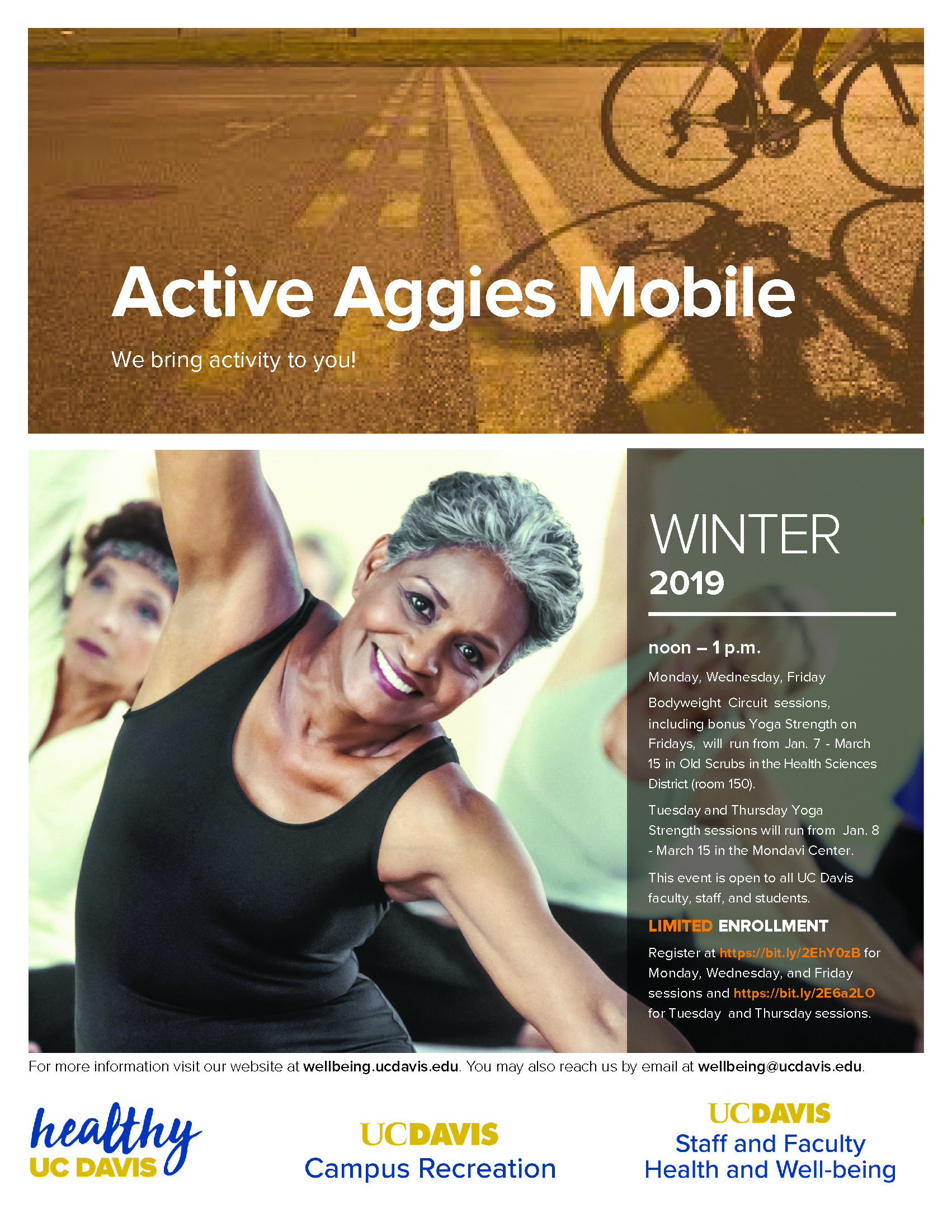 Active Aggies Winter 2019 Flyer