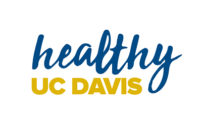 Healthy UC Davis wordmark