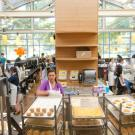 image of campus dining hall at UC davis