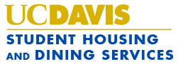 uc davis student housing and dining logo