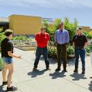 uc davis Learning by Leading visit from Excelerate Foundation